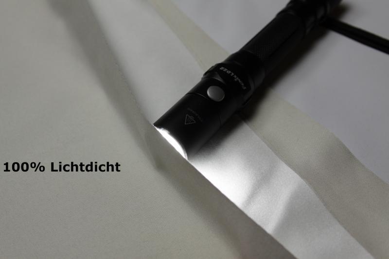 Verdunkelungsstoff 280cm Vorhangstoff Thermogardine Blackout 100% Lichtundurchlässig